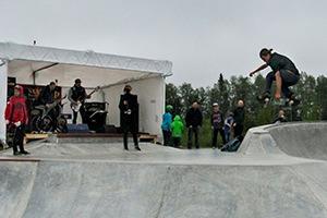 Kevin Bækkel - Jessheim skatepark virtuelle tur